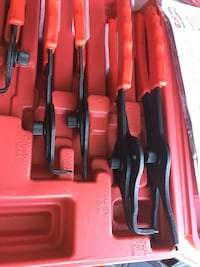 Red and black tool set