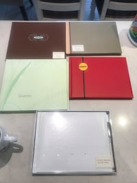Hallmark event guest books - negotiable  Vaughan, L4H 2G2
