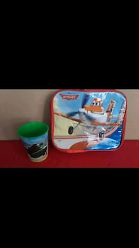 Airplanes lunch bag and cup  Stockton, 95215
