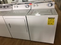 GE white washer and dryer set  Woodbridge, 22191