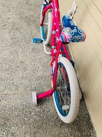 toddler's red and blue bicycle Bellevue, 98005