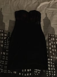 Black and red strapless dress  Winnipeg, R2G 0S2
