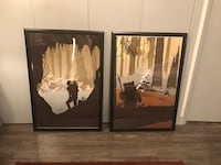 Star Wars prints and frame Los Angeles, 91606