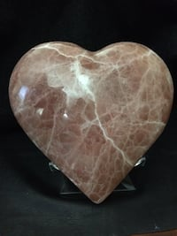 Salmon Calcite Heart Englewood, 80113