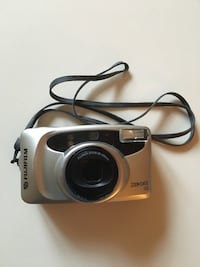 Silver fujifilm digital camera ZOOM date 35mm Winchester, 22602