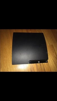 black Sony PS3 slim console Harwood Heights, 60706