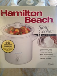 Hamilton Beach slow cooker 4 quart Ruckersville, 22968