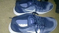 pair of blue-and-white Nike running shoes Port Charlotte, 33952