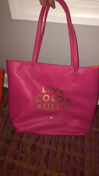 women's pink leather tote bag Goldsboro, 27530