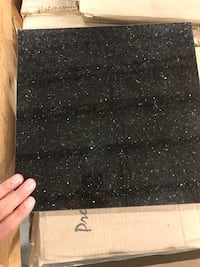 Granite Tile Clearance- Black Galaxy  22 km