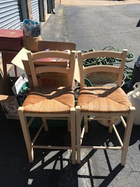 2 Wicker bar stools Cumming, 30041