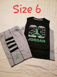 two black and gray Nike tank tops Fort Worth, 76103