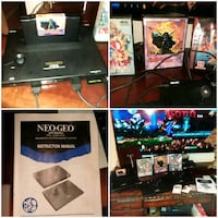 Neo geo gold console.    In excellent condition like new.   Original  owner.  With low serial number.   Lexington, 40503