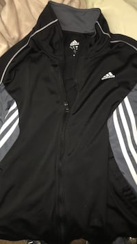 Black and white adidas track jacket Edmonton, T5X 4V4