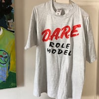 D.A.R.E Role Model T Shirt - Large
