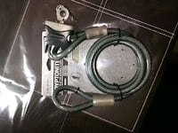 Kryptonite bike cable and padlock with lighted key Edmonton, T5E 2T2