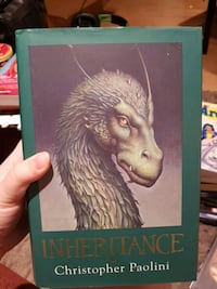 Inheritance by Christopher Paolini book Laval, H7K 3C1