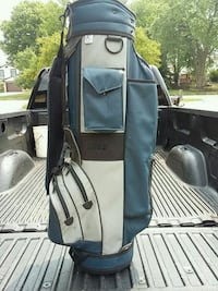 Leather golf bag 10dollars mint  Sterling Heights, 48313