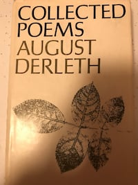 Collected Poems by August Derleth 1967 Plain, 53577
