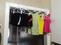 Little Girls XS 4/5 Athletic Clothes Lot - 5 Pieces Athens