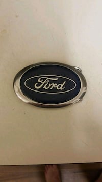 Ford belt buckle 40 km
