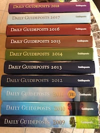 Guideposts Book Set of  10 Ames, 50014