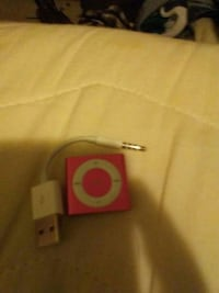 red iPod Shuffle 4th generation