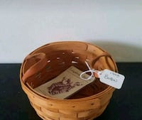 1993 Longaberger Button Basket Hagerstown, 21742