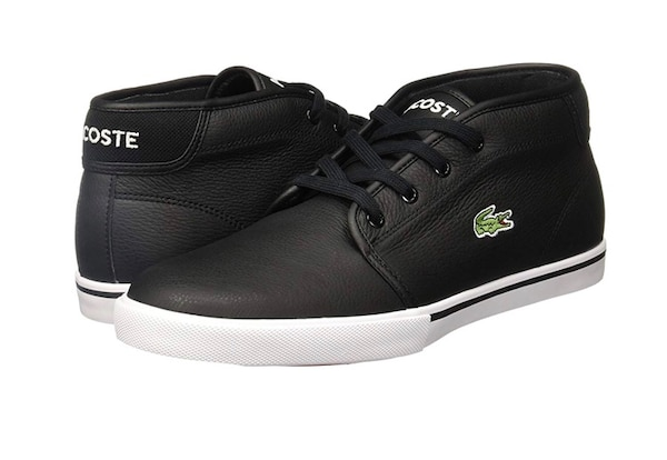 d75482a02 Used black and white Lacoste low top sneaker for sale in Toronto - letgo