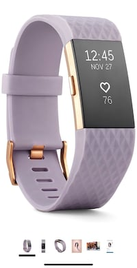 Fitbit charge2 - Rose Gold Series