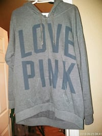 gray and black Pink by Victoria's Secret sweater Stockton, 95205