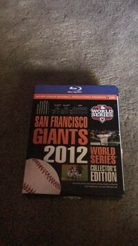 San Francisco giants 2012 world series Collectors's EDITION San Jose, 95124