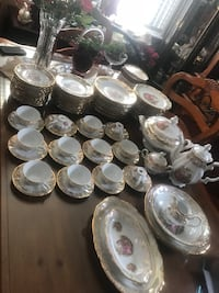 Love story High quality Germany Dinner set for 12. Excellent conditions, no sign of use.  Hamilton, L9A 1T3