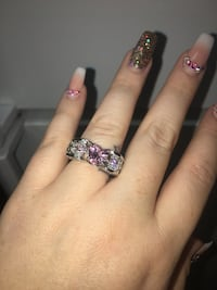 New pink sapphire in 925 sterling silver ring  San Antonio, 78227