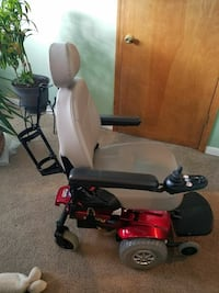 black and red motorized wheelchair Lee's Summit, 64081
