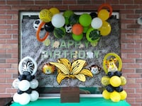 jungle safari Bday party decor  (any age) Guelph, N1K 1Y9