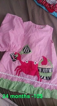 Boutique dress 2pc girls clothing