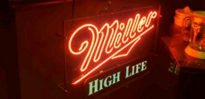 1 Miller High Life Neon Sign Great Mancave Piece #1