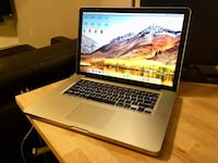 "MacBook Pro 15"" / 2.7 i7 / 4gb / 750gb / Adobe / Office / Final Cut Pro / MORE Mc Lean, 22102"