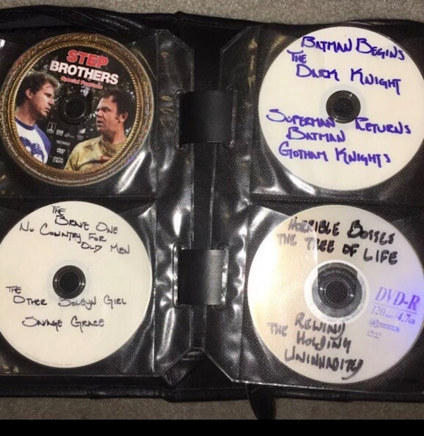 DVDs w/ multiple movies