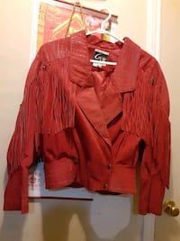 Red Suede Fringe Beautiful Jacket