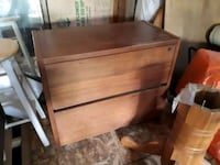 brown wooden 2-drawer d Bon Accord, T0A 0K0