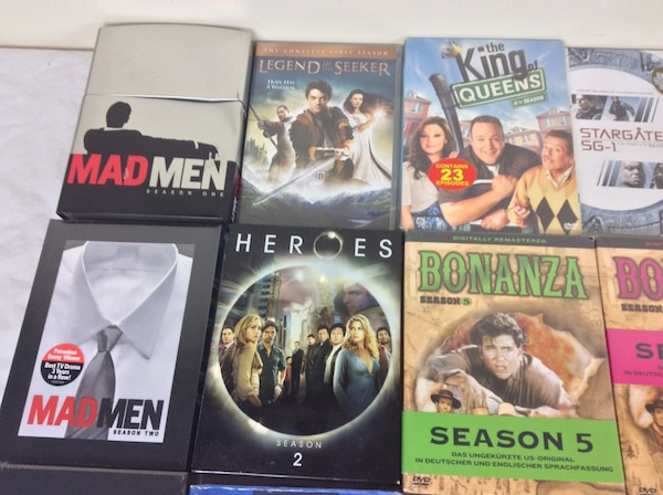 DVD Box Sets Various TV Shows Seasons $5 each b896c7ef-f8c9-452a-aa28-9dfc9729ddd6
