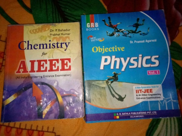 Best books for iit/jee and aieee exams