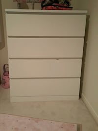 white wooden 4-drawer chest Ottawa, K2J
