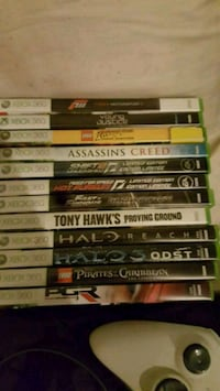 assorted Xbox 360 game cases London, N6G 2Y8
