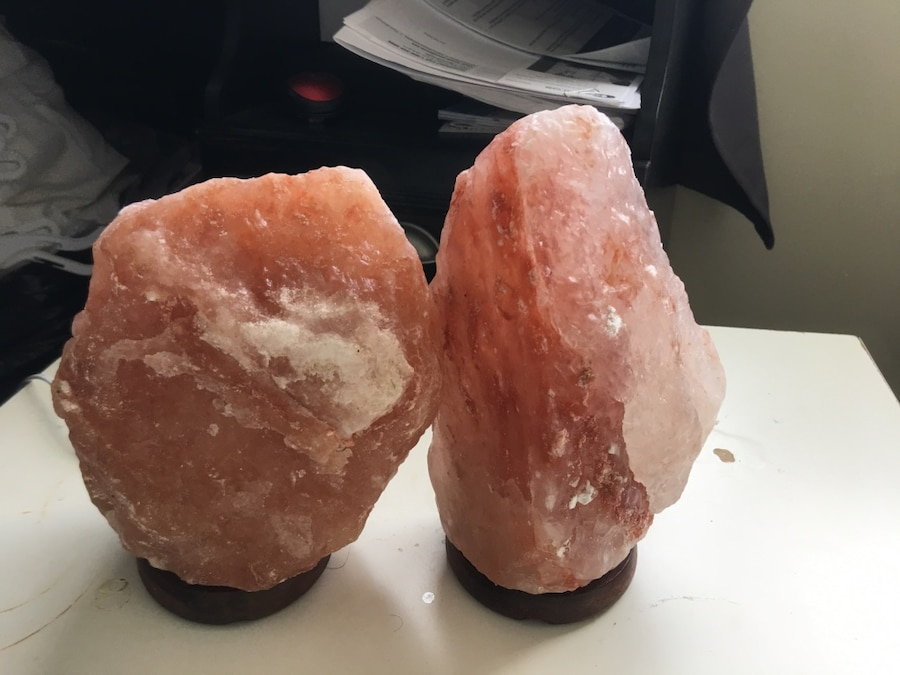 two himalayan salt lamps in Mount Joy Township - letgo