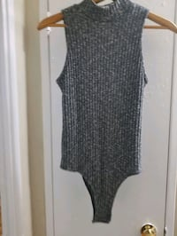 Open back turtle neck size Medium