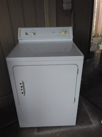white front-load clothes washer Dallas