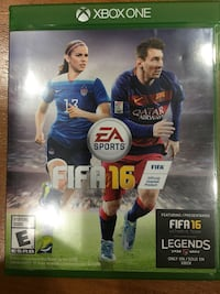 FIFA 16 Xbox 360 game case Herndon, 20171